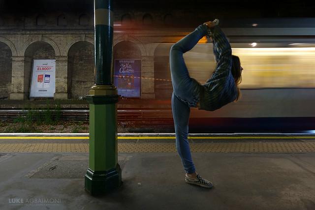 A balanced train journey