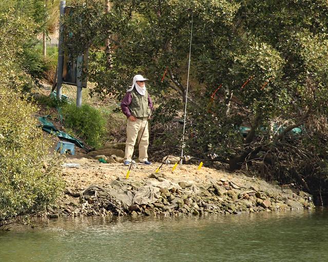 Intrepid fisherman