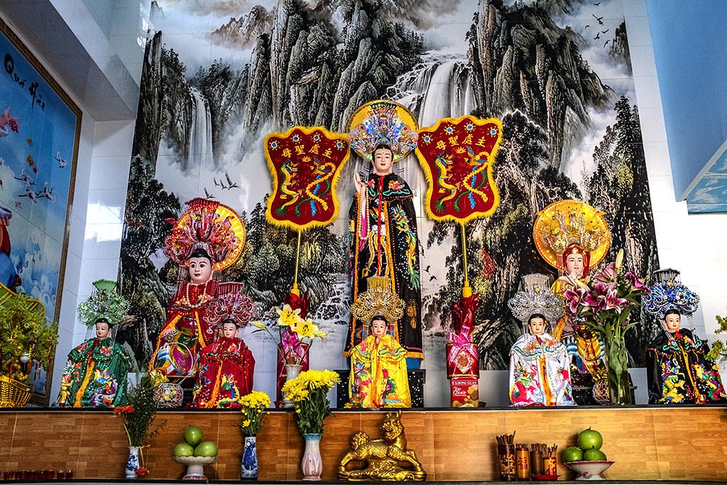 Tuyen Lam Temple in District 6--Saigon