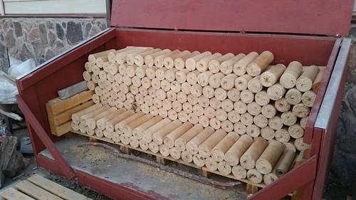 Energy Logs Stored