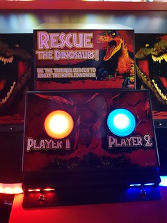 Jurassic World Arcade at B Lucky and Sons