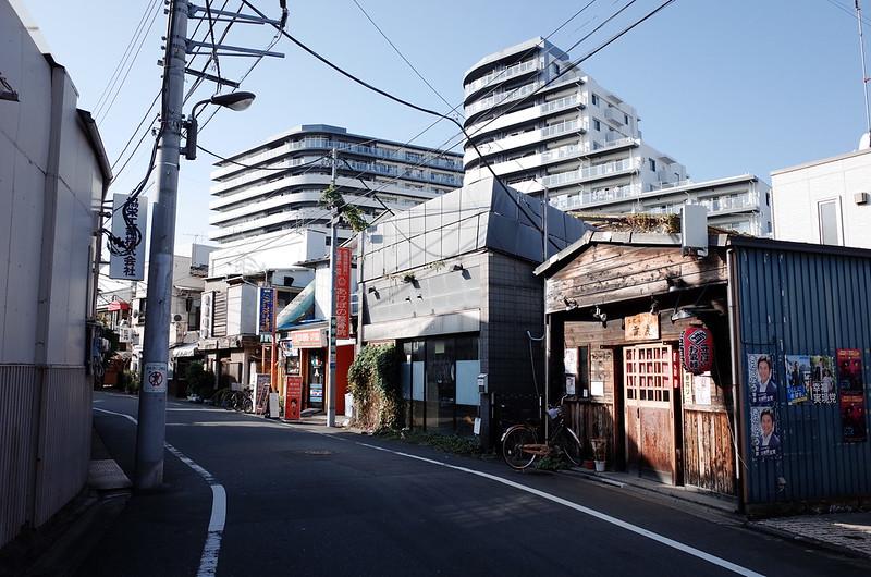 38浅草鐘ヶ淵詣で京成関屋駅前商店街