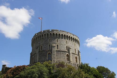 溫莎城堡的圓塔
