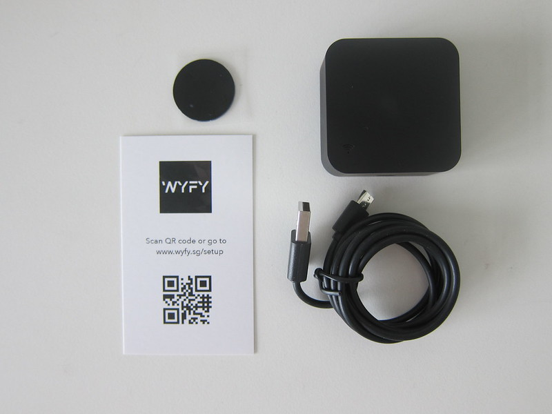 WYFY Beam - Box Contents