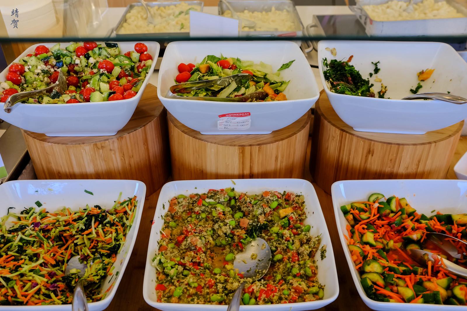 Pre-mixed salad