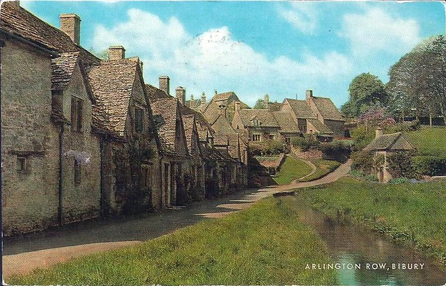 Arlington Row: Cotswold stone cottages