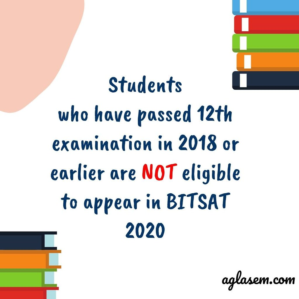 bitsat 2020 BITSAT 2020: Exam Date (after 24 May), Registration (Last Date 26 Apr)