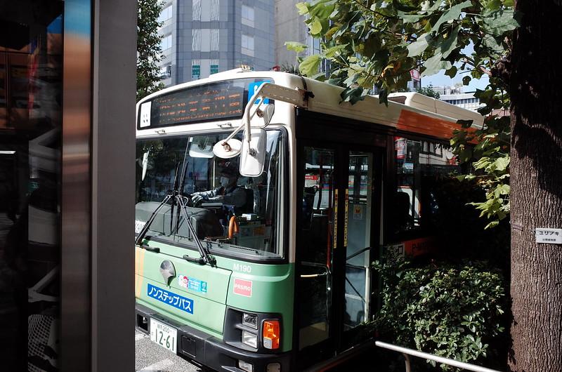 05浅草鐘ヶ淵詣で池袋駅東口バス停