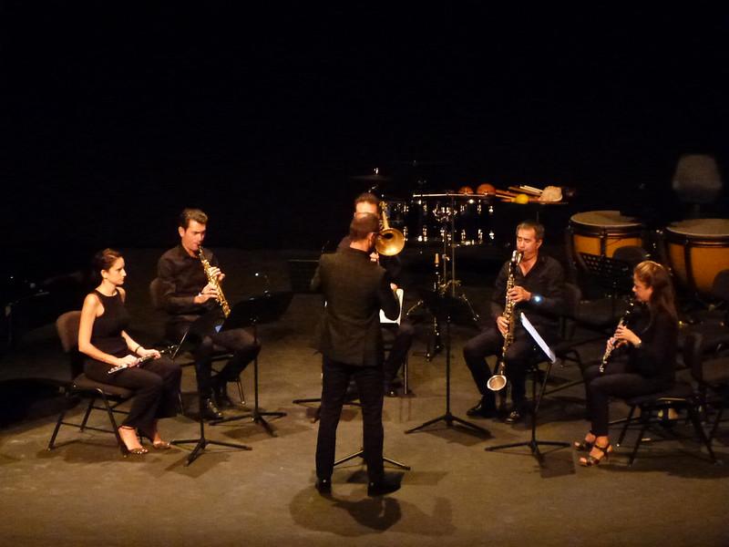 Concierto de Lanzarote Ensemble en el Teatro El Salinero 01-11-19