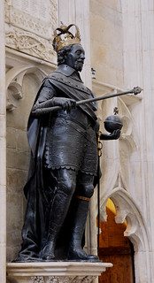 Winchester, Hampshire, cathedral, king James i