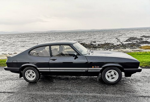 Ford Capri Laser, 1986. Islay