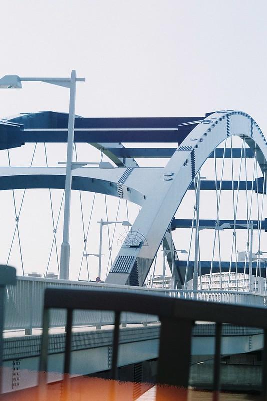 FlexaretⅥ+35mmアダプター+FUJIFILM業務用100水神大橋