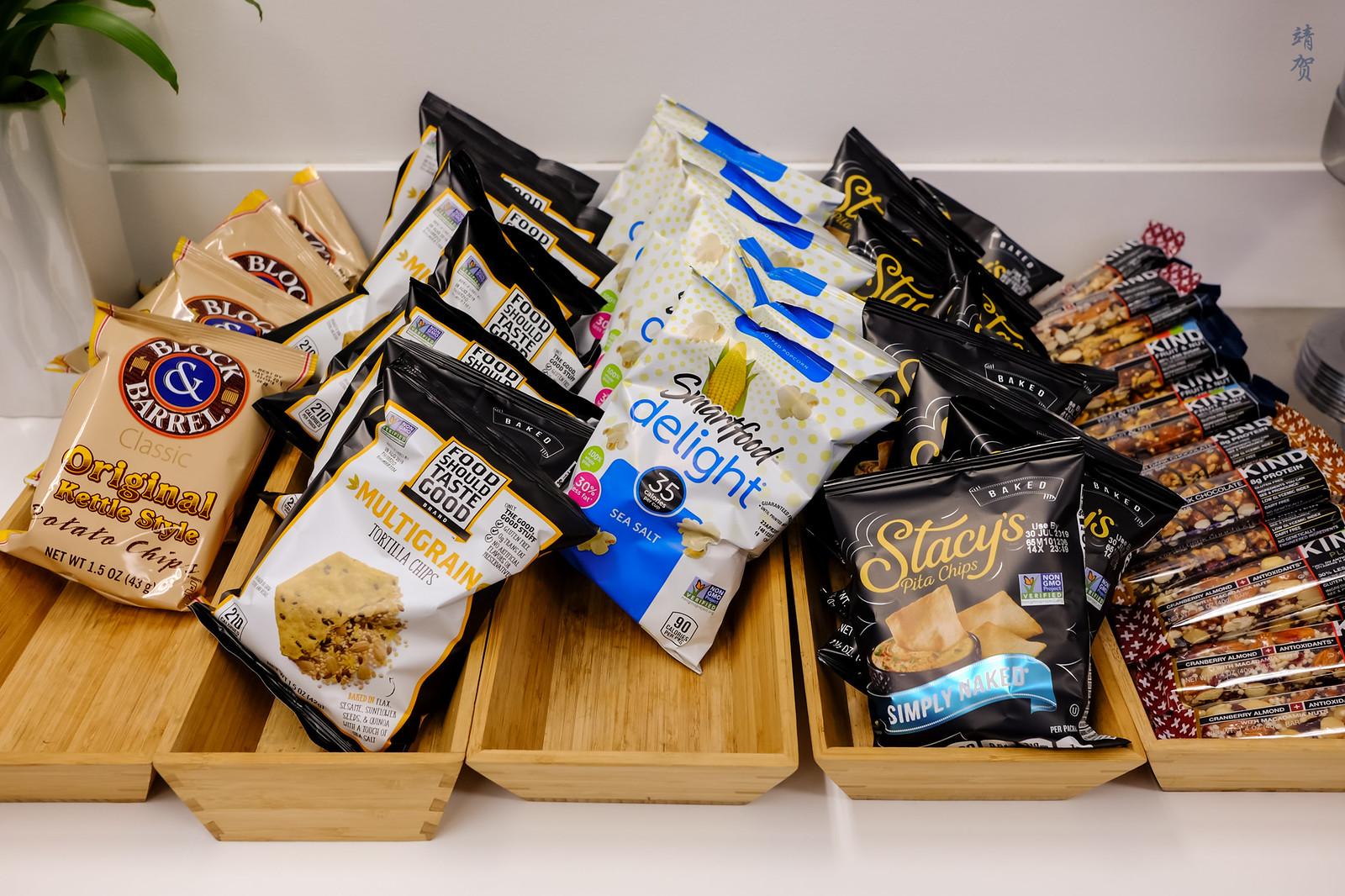 Chips and granola bars