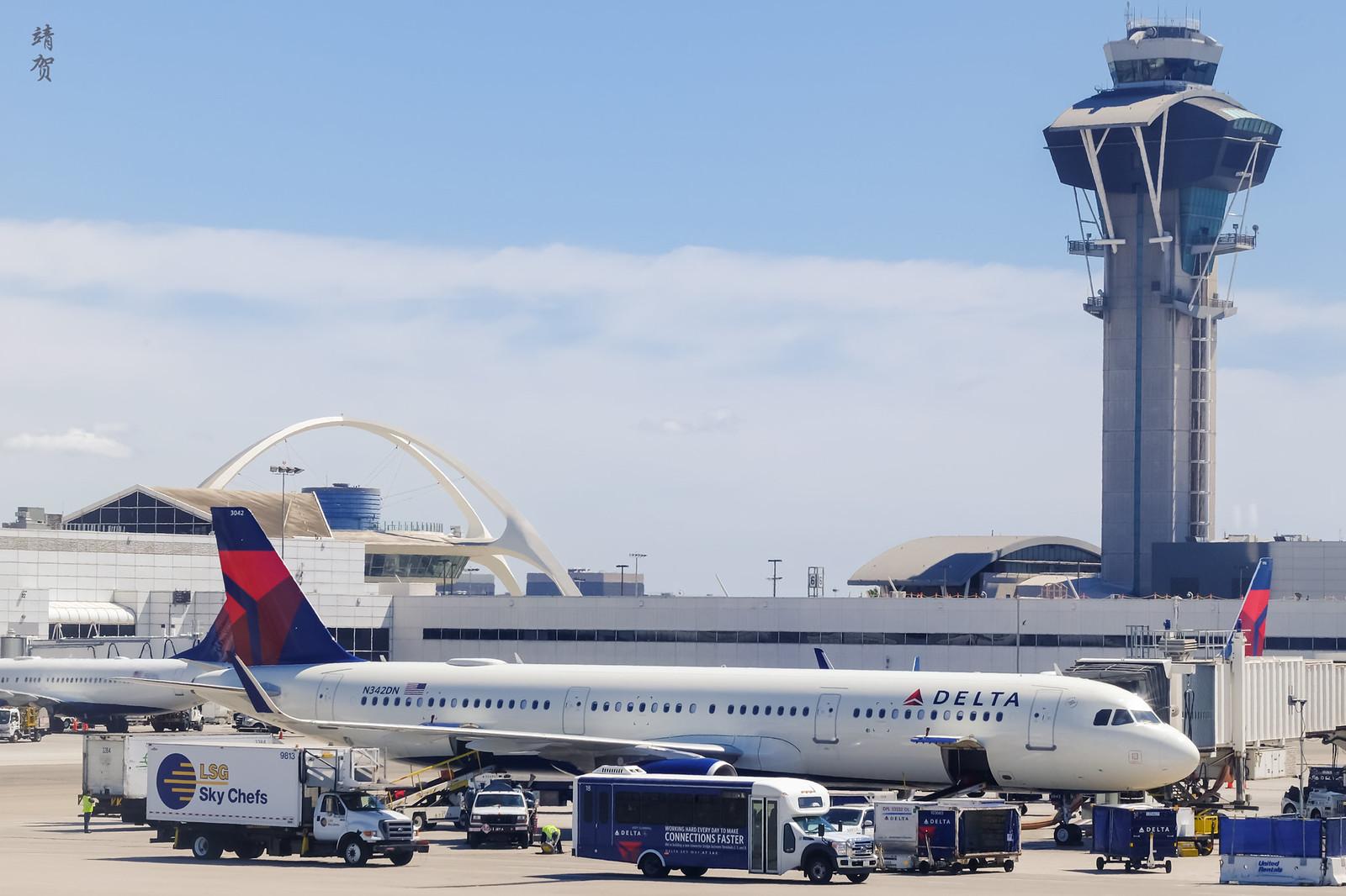 Delta hub at LAX