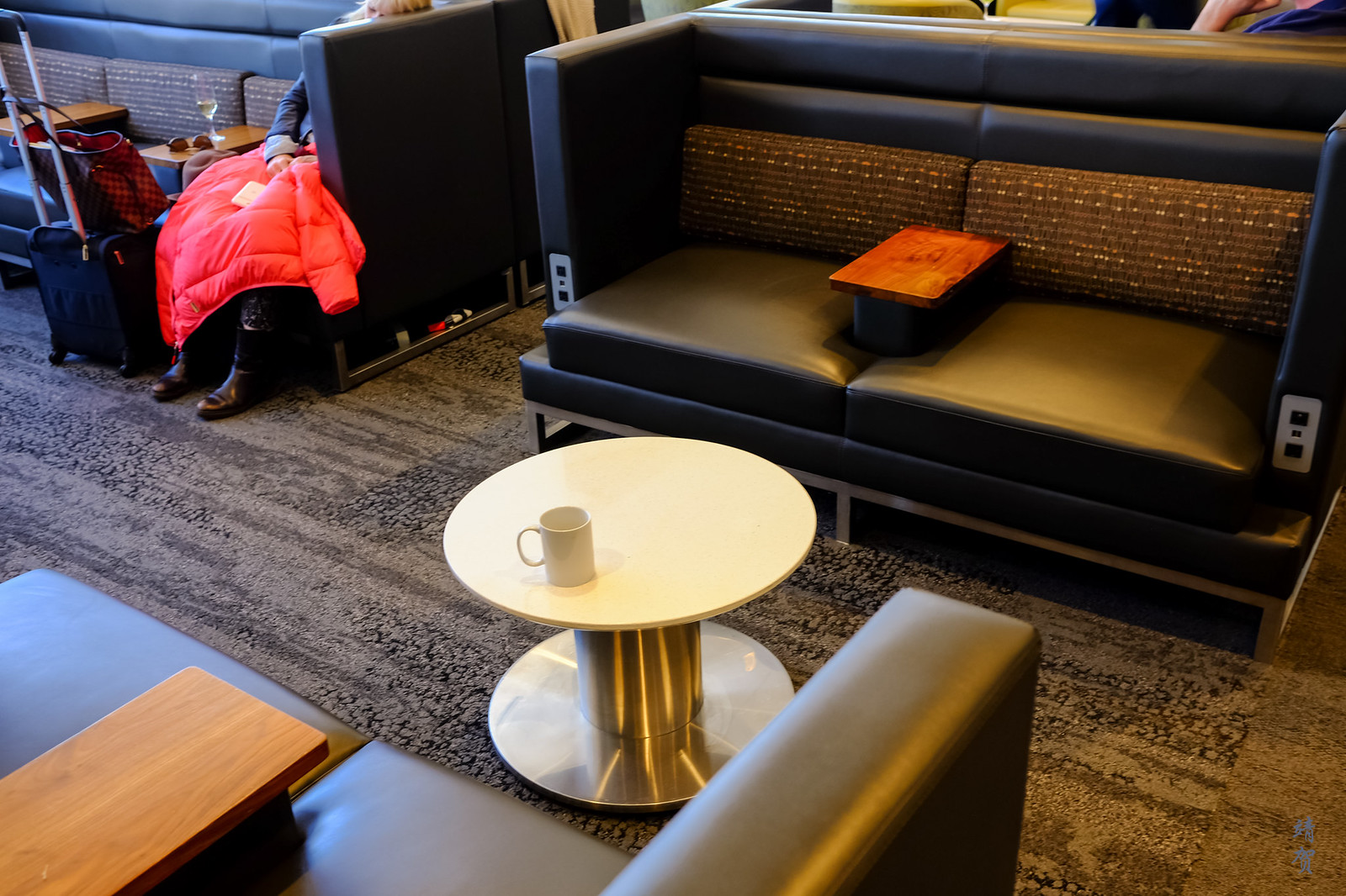 Group seating in the lounge