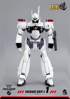 經典機器人實體作品又一款!threezero ROBO道系列《機動警察》英格蘭姆1號機(機動警察パトレイバー AV-98 イングラム1号機)