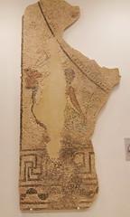 mosaico romano alegoria del rio Tiber s. III d.C. del peristilo de la villa romana de Caserio Silverio Museo de la Ciudad de Antequera Malaga