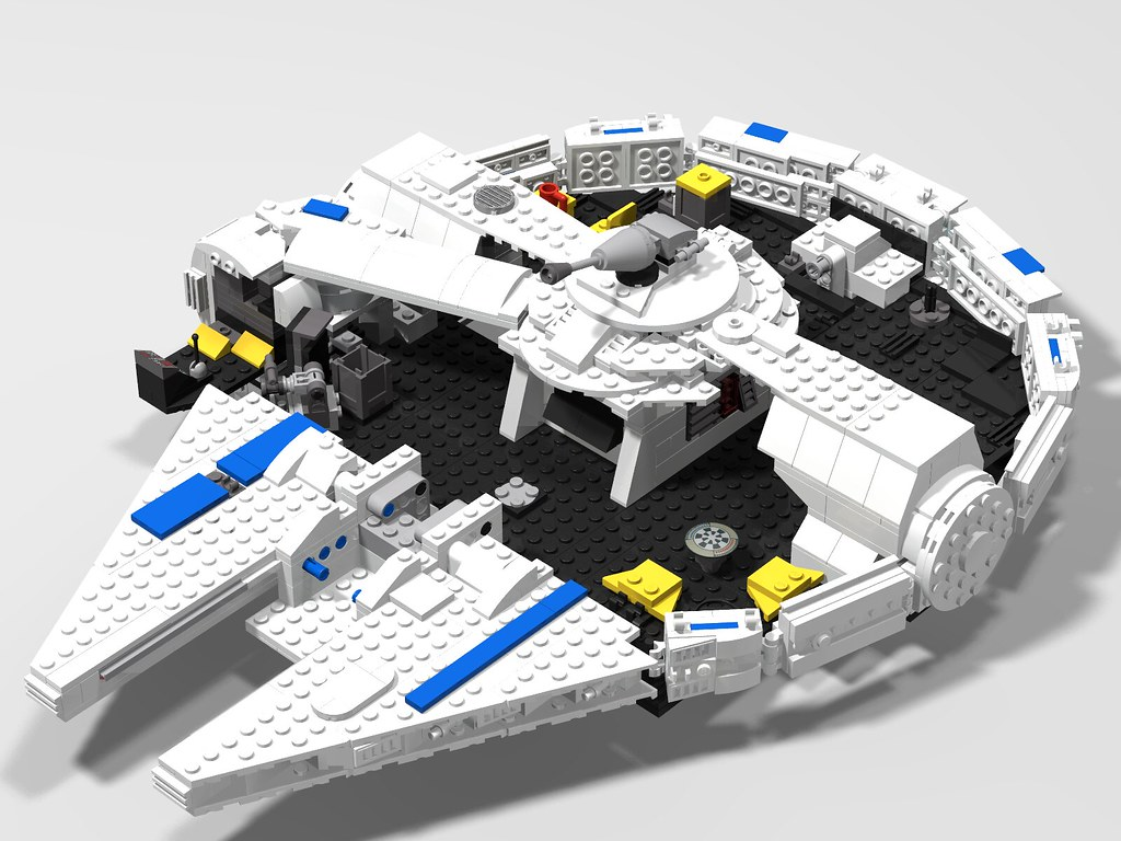 75257 2019 Millennium Falcon Mods And Mocs Lego Star Wars Eurobricks Forums