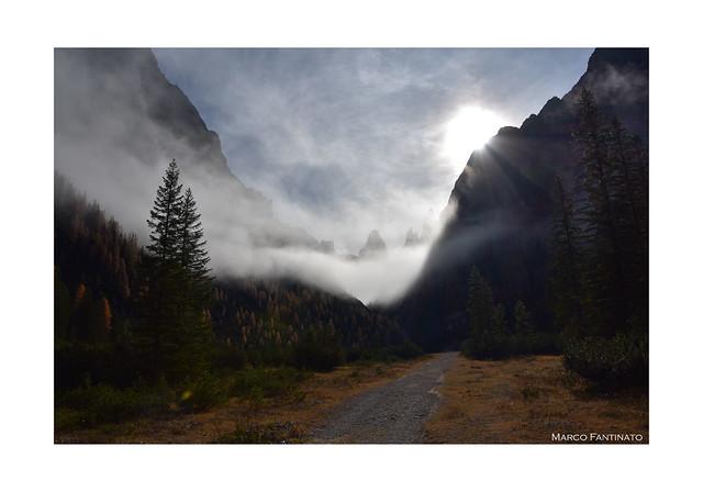 Dolomiti di Sesto, autunno in Val Fiscalina