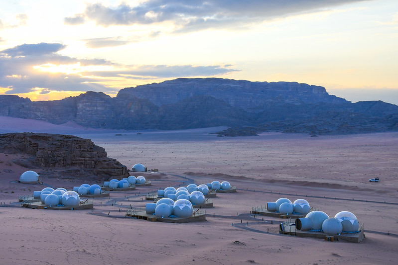 Wadi Rum by night