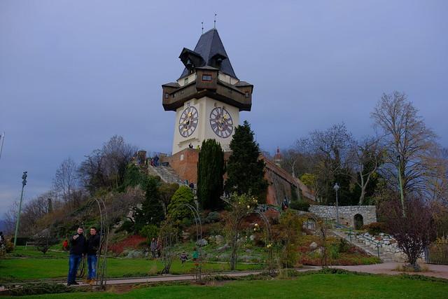 XE3F1274 - Torre del reloj de Graz - Graz Clock Tower – Grazer Uhrturm