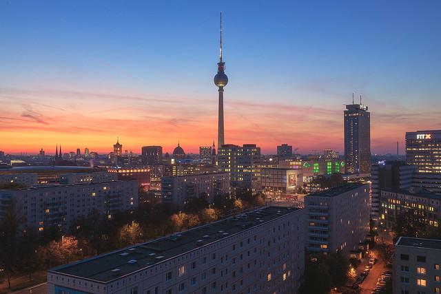 Berlin - Skyline Karl Marx Allee