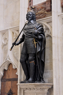Winchester, Hampshire, cathedral, king Charles i