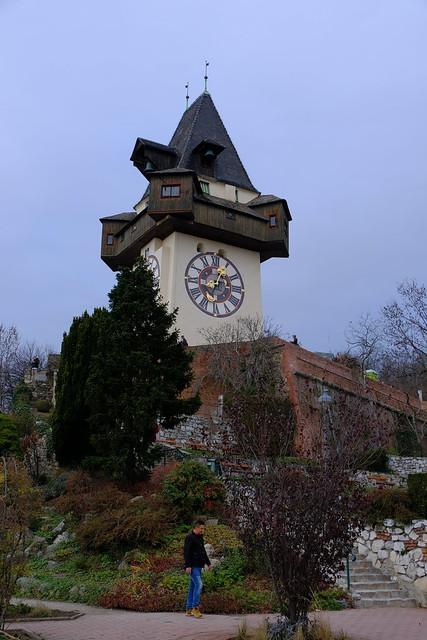 XE3F1260 - Torre del reloj de Graz - Graz Clock Tower – Grazer Uhrturm