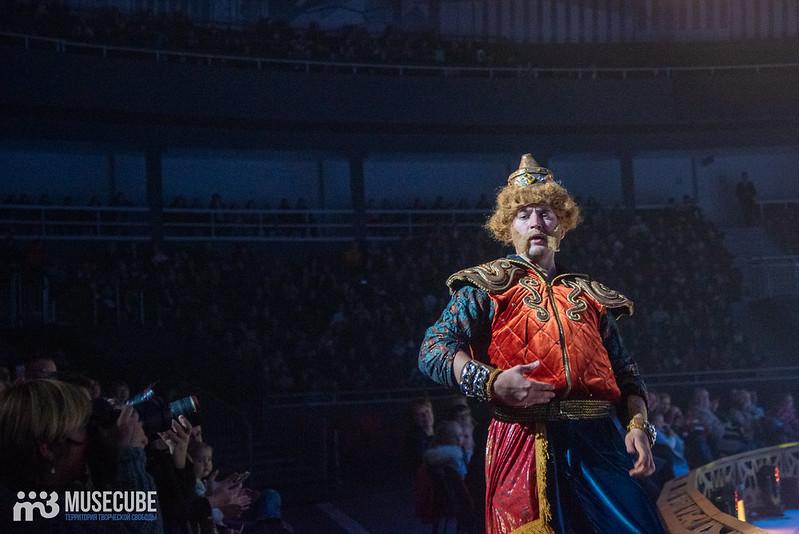 """Ледовый мюзикл «Руслан и Людмила» в СКК """"Юбилейный"""" в Санкт-Петербурге."""