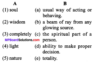 MP Board Class 9th General English The Spring Blossom Solutions Chapter 1 O Light! 2