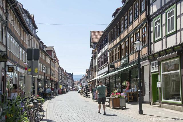 Kävelykatu Wernigerodessa