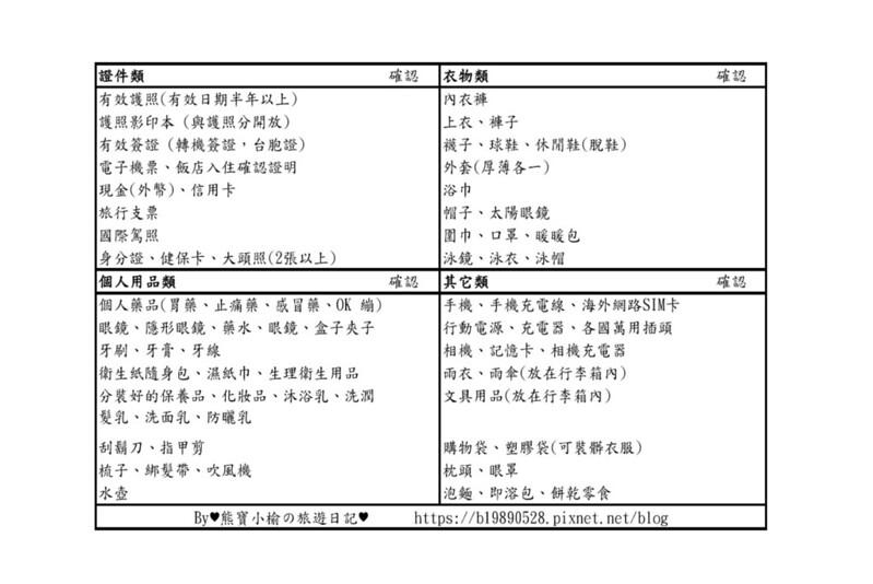 Check List_20191102