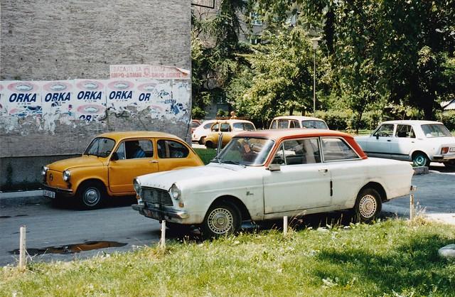 Ford Taunus 12M P4 Skopje Macédoine / Makedonija  1999a