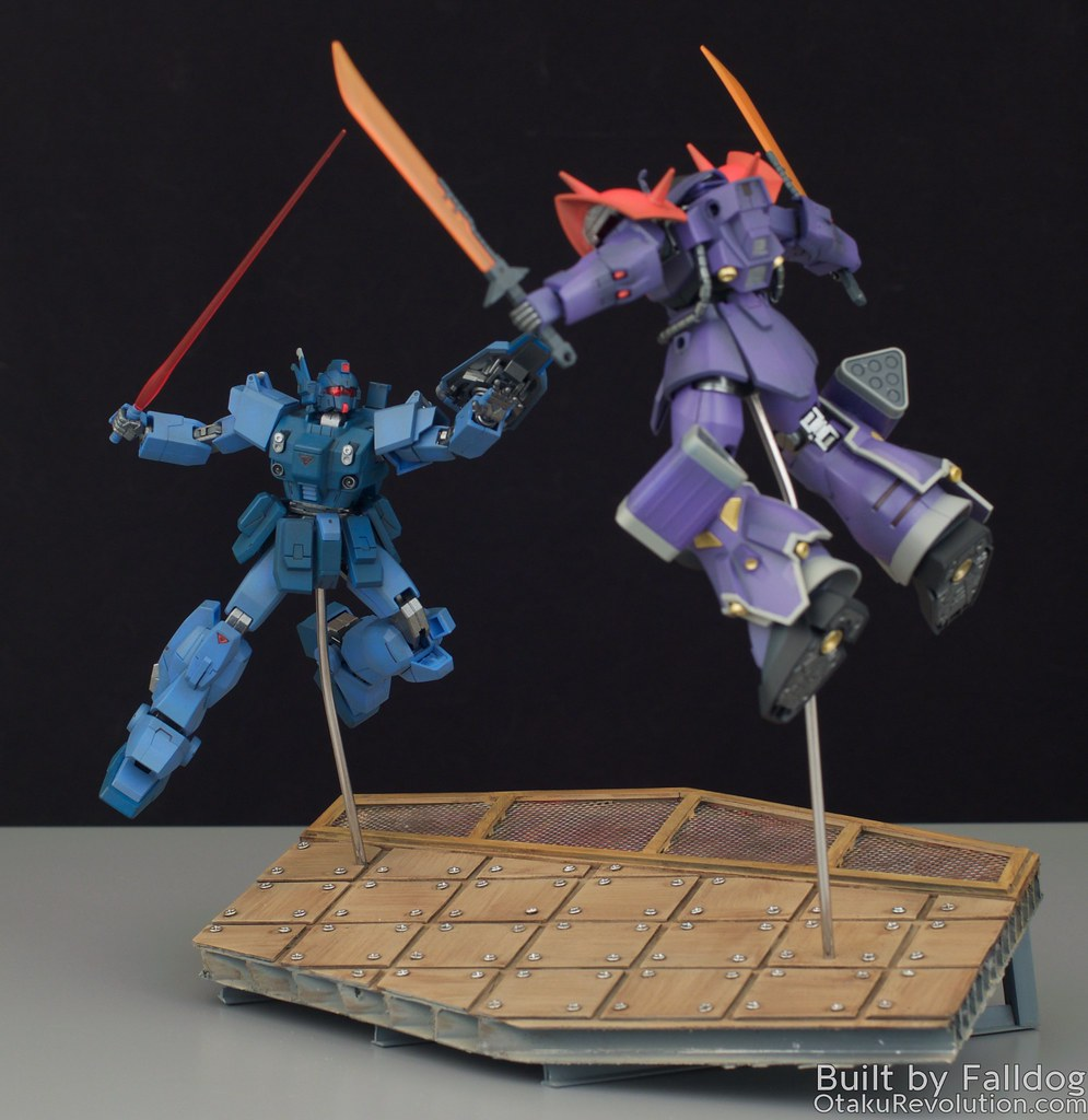 Blue Destiny vs Efreet Custom 3