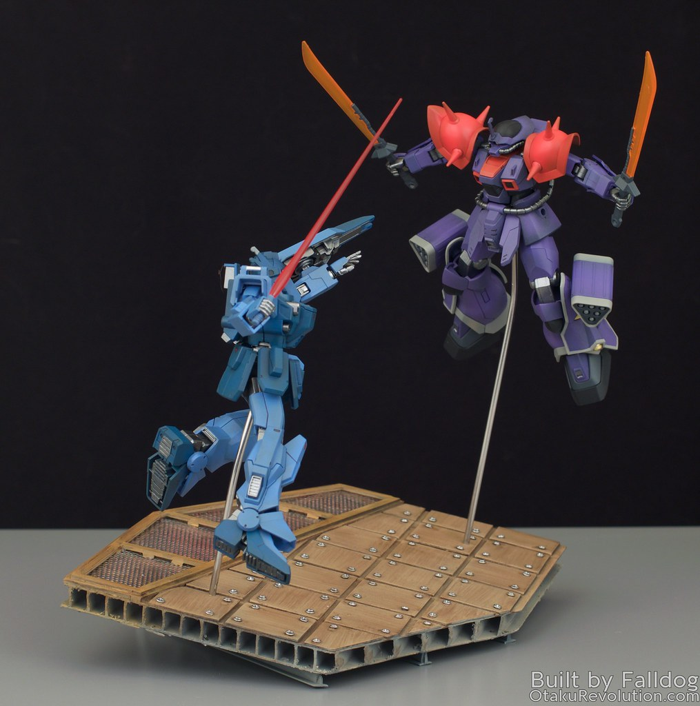 Blue Destiny vs Efreet Custom 2