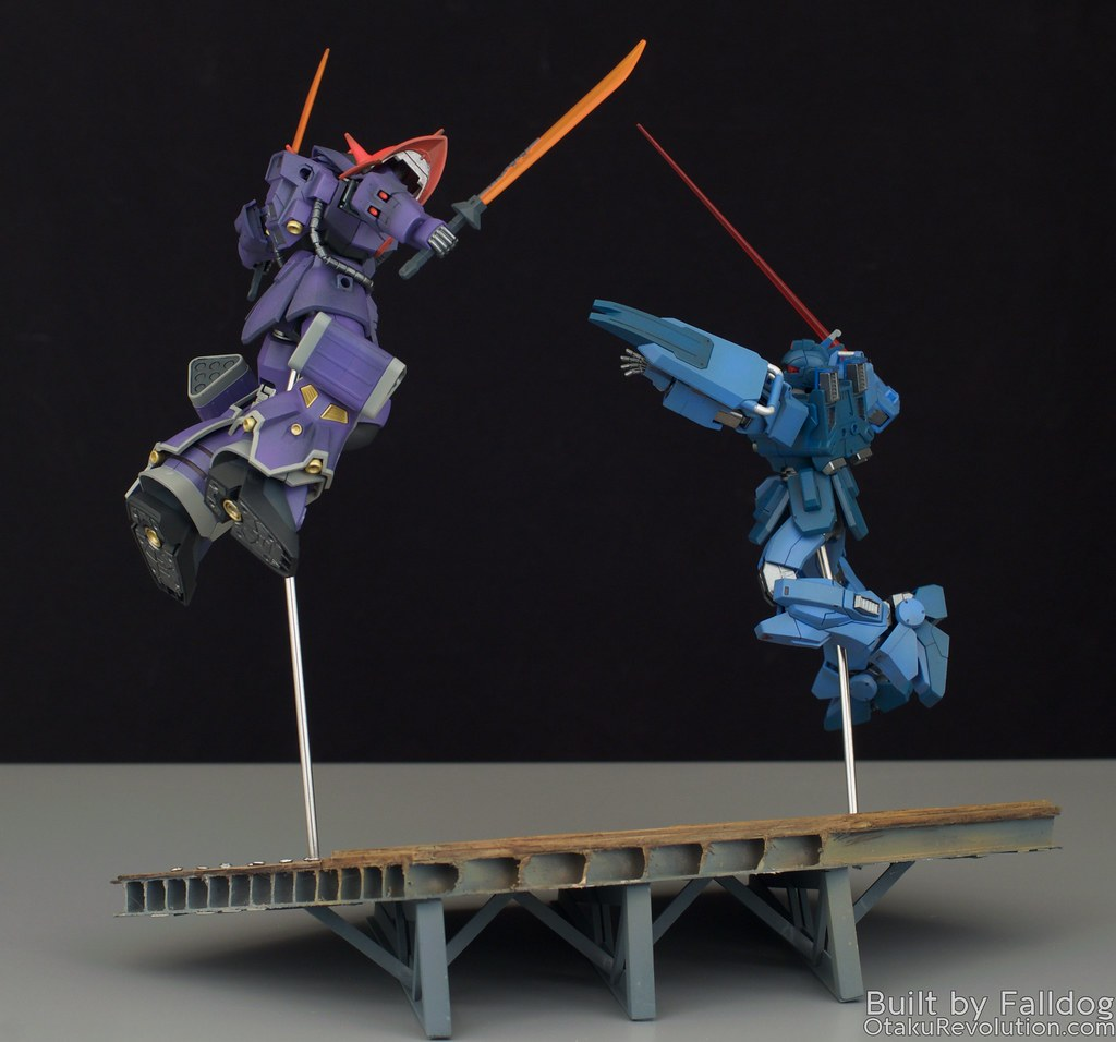 Blue Destiny vs Efreet Custom 4