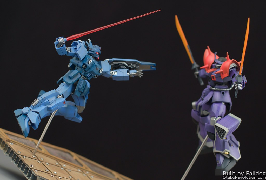 Blue Destiny vs Efreet Custom 6