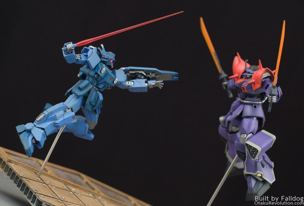 Blue Destiny vs Efreet Custom 6