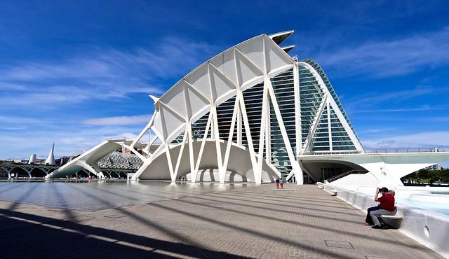 Museu de les Ciències / Ciutat de les Arts i les Ciències / Valencia