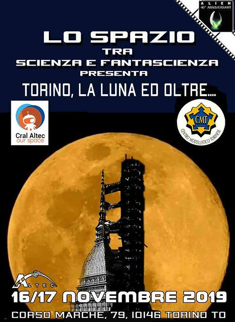 Cral Caltec Torino la Luna e Oltre . TURIN, THE MOON AND BEYOND