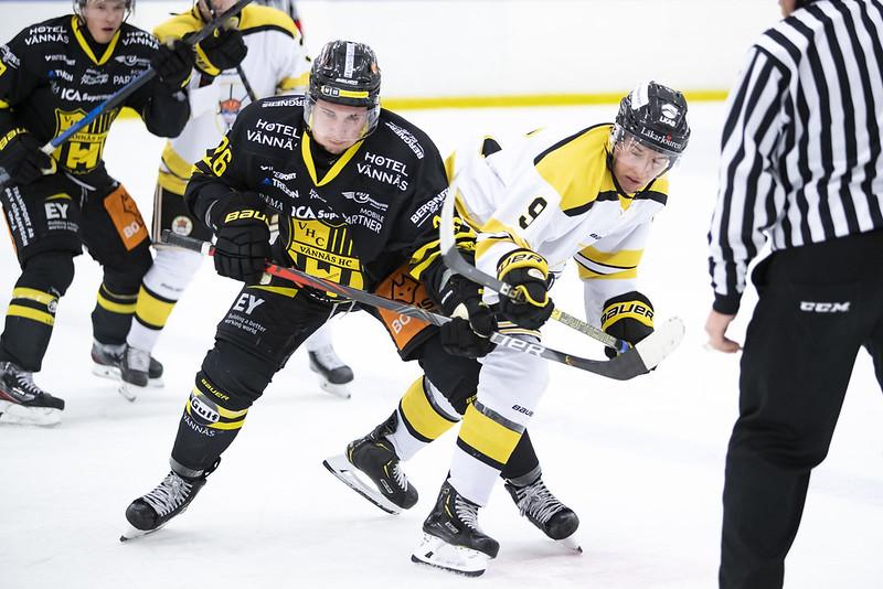 Hockeyettan Vännäs HC - Kiruna AIF 2019-11-02