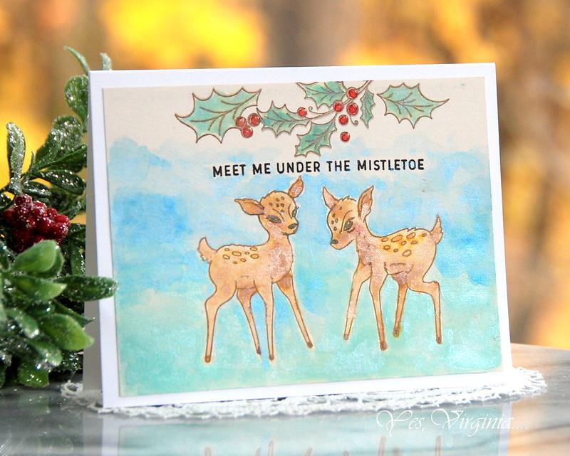 Meete me under the mistletoe