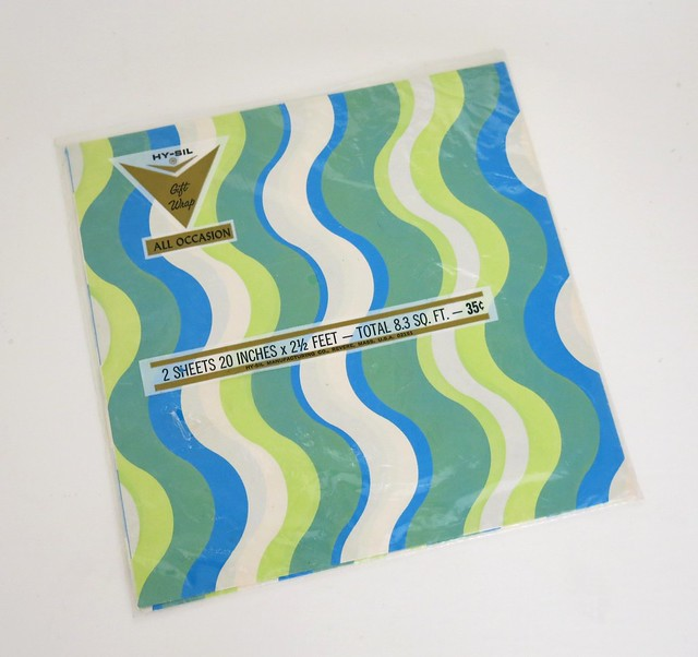 Vintage HY-SIL All -Occasion Gift Wrap - 1960s