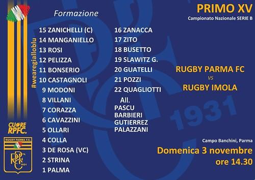 RPFC vs Imola 03.11.19