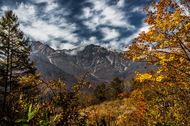 Late Autumn in the Japanese Alps