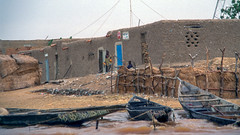 Sailing on the Niger River