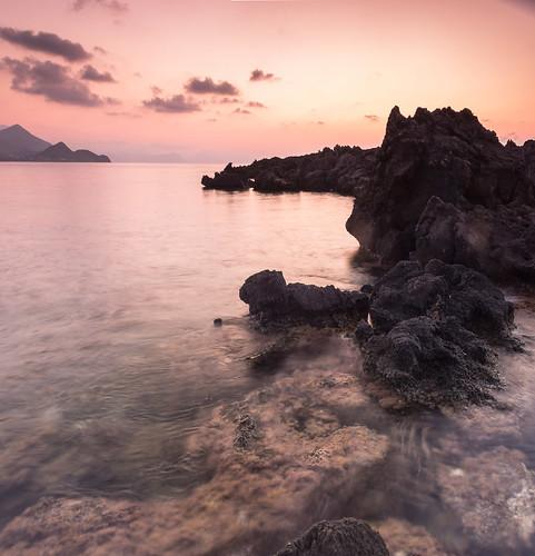 summer sea seascape rocks coastline sky outdoor landscape