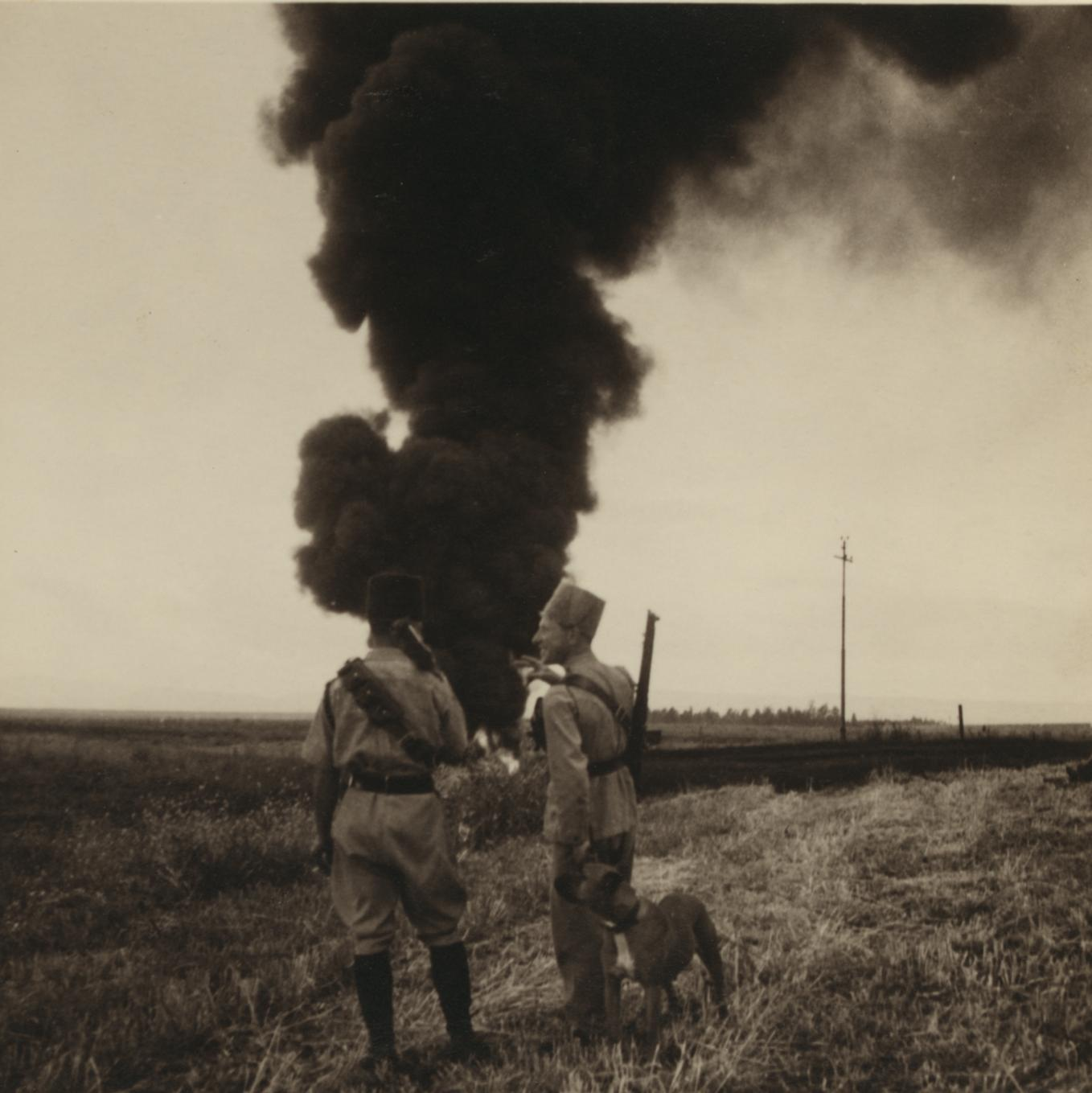 15 апреля. Нефтепровод МПК возле Афулы загорелся на рассвете1