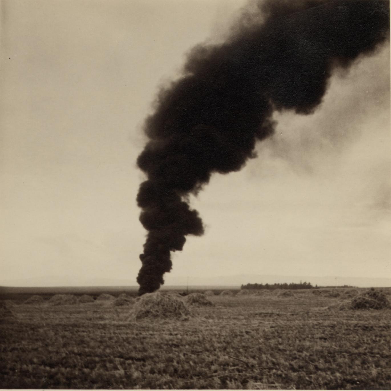 15 апреля. Нефтепровод МПК возле Афулы загорелся на рассвете