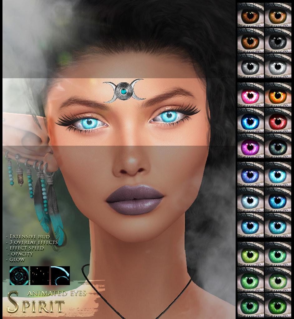 -Elemental 'Spirit' Animated Eyes Advert @ We <3 RP